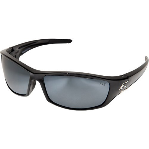 EDGE SR117 RECLUS BLACK FRAME WITH SILVER LENSES SAFETY GLASSES