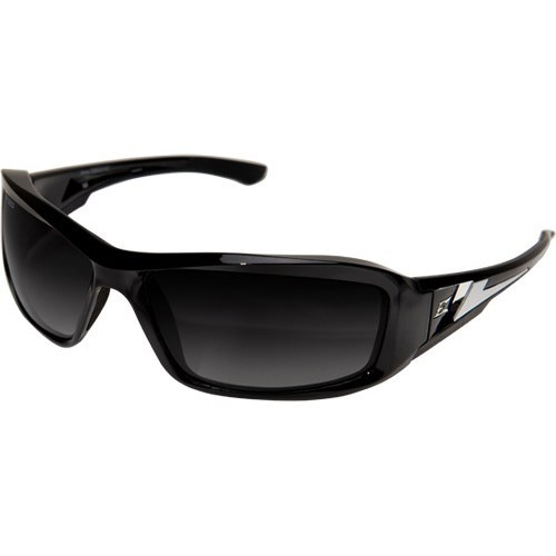 TXBG216 WOLF PEAK BRAZEAU SAFETY GLASSES BLACK W/POLARIZED GRADIENT LENS