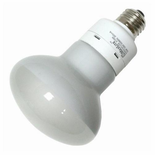 SKA SKR315FLCW 15W R30 COMP FLUOR FLOOD LAMP - 600LUMENS - 4100K - 10K HR RATED CS=12 (COMPARE TO 75W)