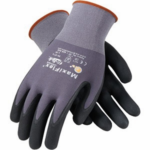 PIP 34-874-XL MAXIFLEX ULTIMATE NYLON KNIT GLOVE COATING: NITRILE GRIP: MICROFOAM