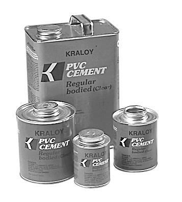 PVC Cement & Primer,CEMENT 1GAL CLEAR,CEMENT 1GAL CLEAR Cement, Color: Clear, Size: 1 Gal