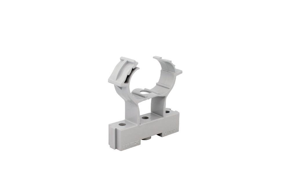 Scepter,SES CCS10 1/2 COND CLMP&SPCR,Kraloy® SES CCS10 1/2 COND CLMP&SPCR Conduit Clamp, Trade Size: 1/2 IN, 1.824 IN Length, Material: Non Metallic, Enclosure: NEMA 1/2/3/4/4X/6P/12/13