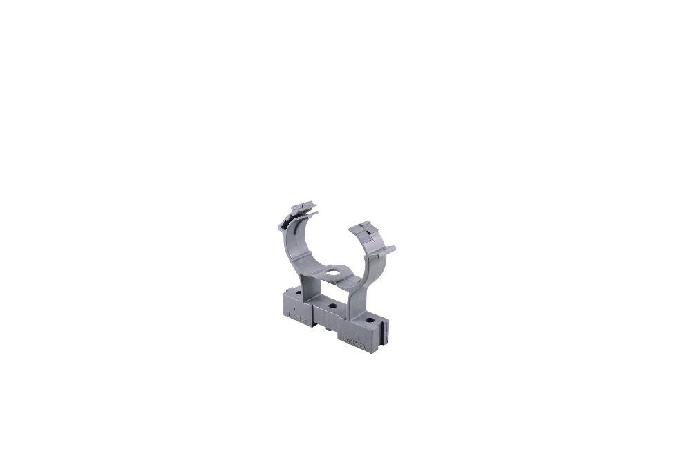 Scepter,SES CCS20 1IN COND CLMP&SPCR,Kraloy® SES CCS20 1IN COND CLMP&SPCR Conduit Clamp, Trade Size: 1 IN, 2.443 IN Length, Material: Non Metallic, Enclosure: NEMA 1/2/3/4/4X/6P/12/13