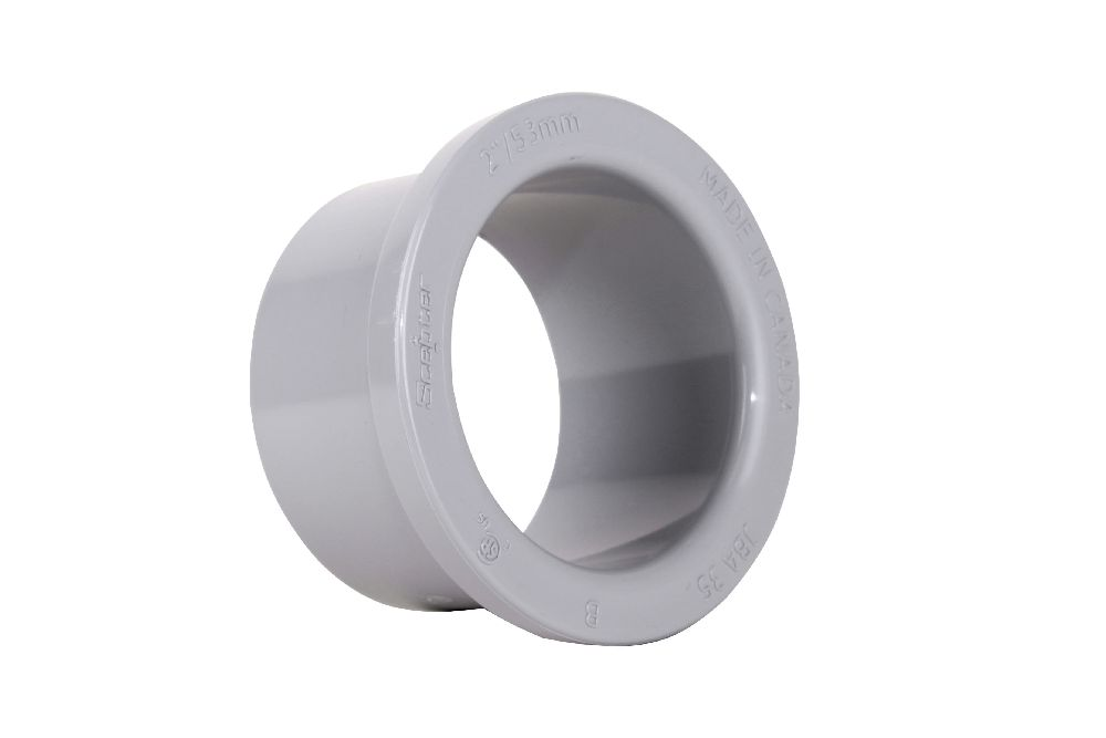 PVC Fittings,B00880,2 PVC BOX ADAPTER