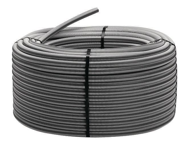 Kwikon,012043,Cor-Line® 012043 Coil ENT Tubing, 2 in Trade, 2.02 in ID x 2.375 in OD, 225 ft L, PVC