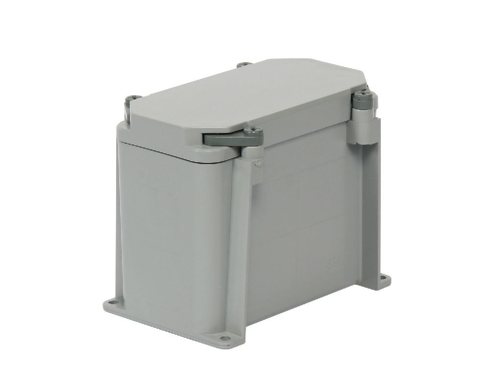 "6""x3""x4"" PVC JUNCTION BOX KRALOY"