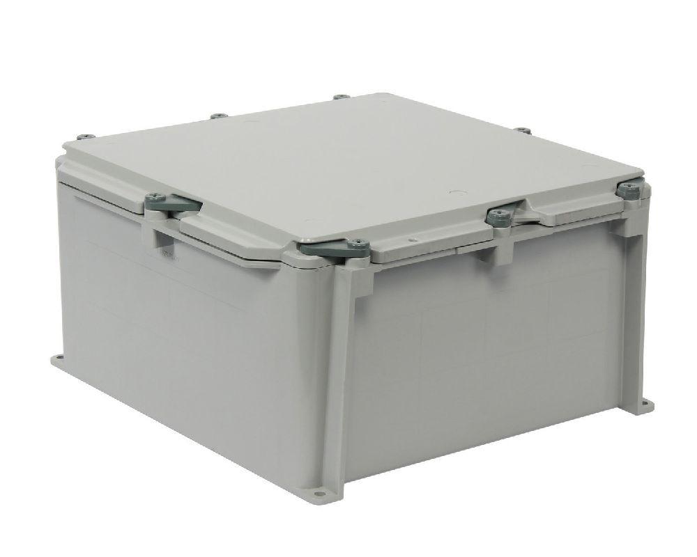 Kraloy,JBX12126,KRALOY® 278309 Junction Box, 12 in L x 12 in W x 6 in D, NEMA 1/2/3R/4/4X/6/6P/12/13 NEMA, PVC
