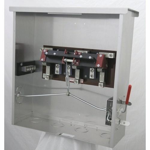 7800-6 RONK 3 PHASE 600V TRANSFER SWITCH NEMA 3R 200AMP