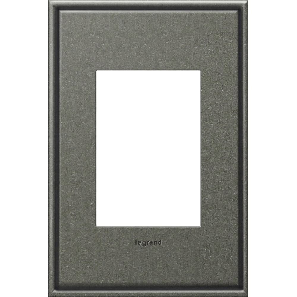 Pass & Seymour AWC1G2-BP4 1-Gang 2-Module Wall Plate - Burnished Pewter