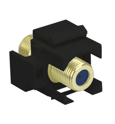 ON-Q,WP3482-BK,SELF-TERMINATING F-CONNECTOR BK (M20)