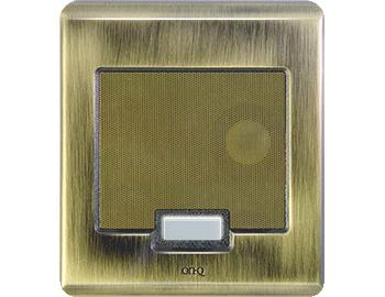 Legrand-On-Q,IC5002-AB,SELECTIVE CALL DOOR UNIT ANTIQ BRS