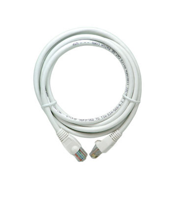 P&S AC3514-WH-V1 14FT WHITE CAT5E PATCH CABLE