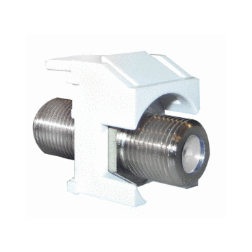 P&S WP3481-WH-10 10PK 3GHZ F-COUPLER WHITE (PRICED PER PACK OF 10) QTY OF 1 GETS A PACK OF 10