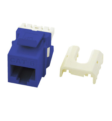 P&S WP3476-BE CAT6 A/B KEYSTONE BLUE QUICK CONNECT