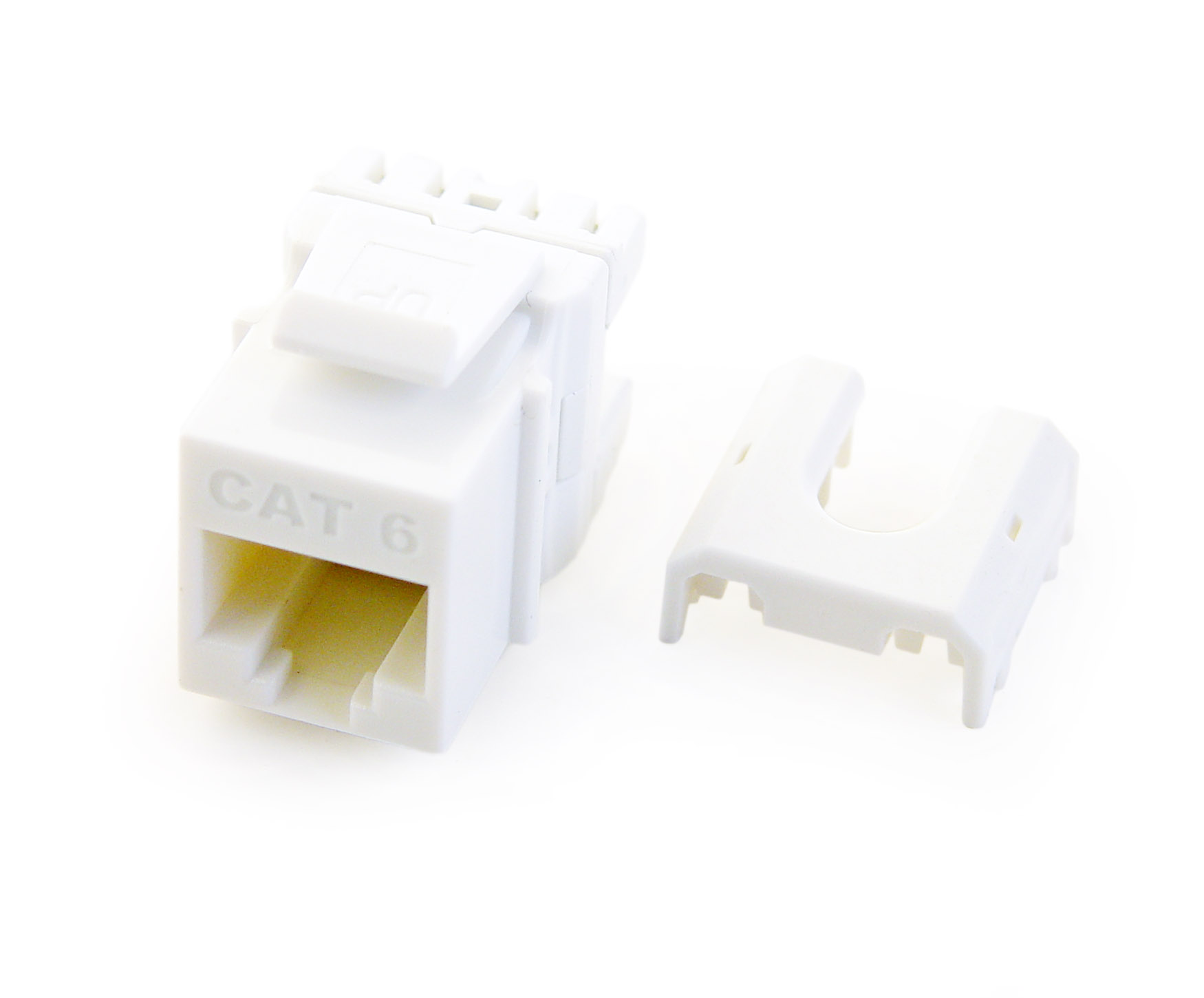 P&S W3476-WH-10 10 PK QC CAT 6 RJ45 INSERT WHITE (PRICED PER PACK OF 10) QTY OF 1 GETS A PACK OF 10