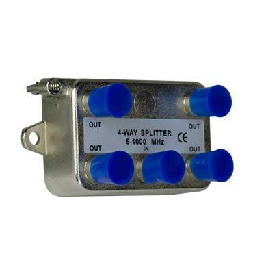 P&S VM0104 4 WAY 1GHZ SPLITTER