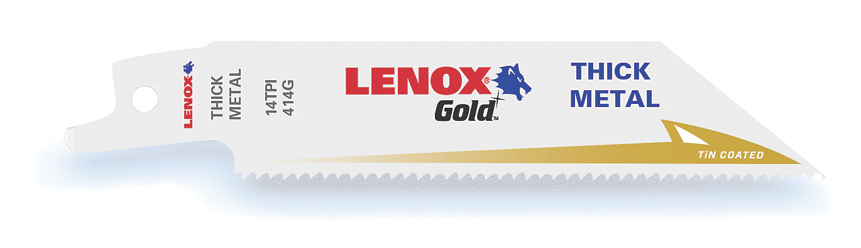 LENOX,21066414GR,GOLD RECIP STR 414GR 4X3/4X035X14 5PK