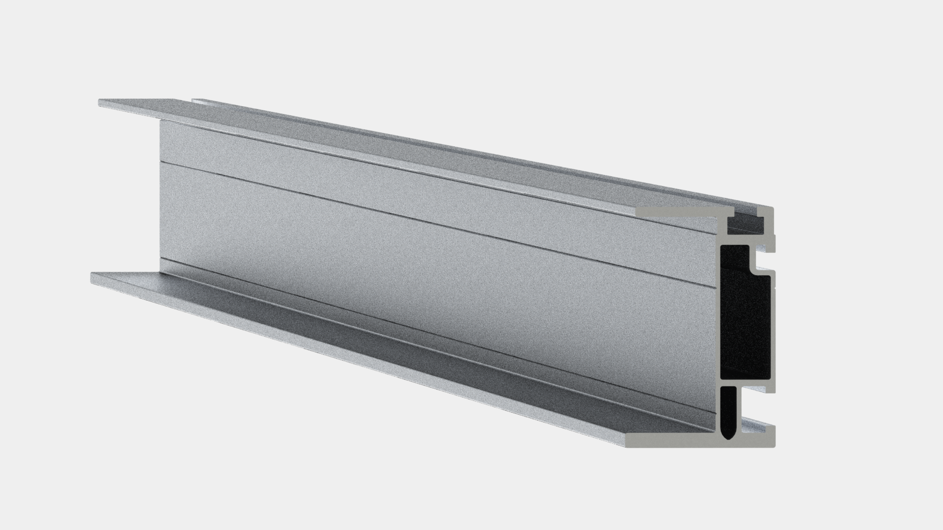 Unirac 410144M UNIRAC 144 Inch Mill Finish Aluminum Solar Mount Heavy Duty Rail