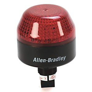 855PB-B10LE522 AB 855PB PANEL MOUNT SOUNDER,STEADY OR FLASHING LED 78118011321