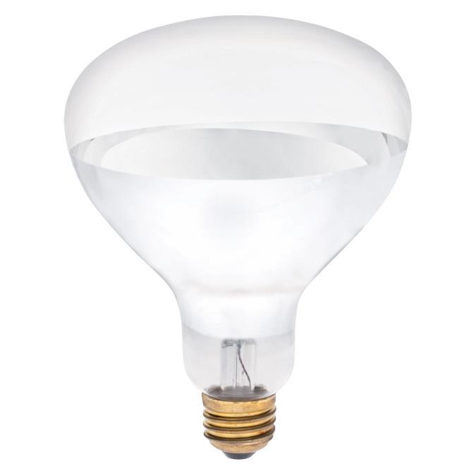 ABC 0348400 R40 250W CLEAR HEAT LAMP CS=24