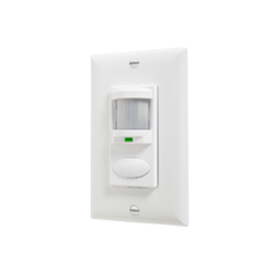 LITH WSDWH OCCUPANCY SENSOR Wall Switch Decorator Passive Infrared (PIR): White
