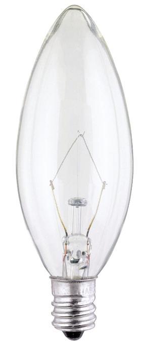 ABC 03683 40B9-1/2 TORPEDO CAND-BASE 130V LAMP cs=25/200