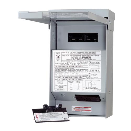 DPU222RGF20 - 60A NF A/C Disconnect W/20A Gfci Receptacle - Eaton Corp