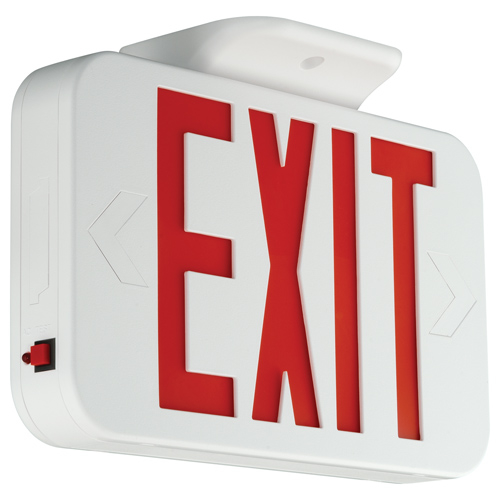 COMPASS CER RED LED EMERGENCY EXIT SIGN