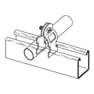 """B2209PA34 - BLTD 3/4"""" Unv Strut Strap - Cooper B-Line/Cable Tray"""