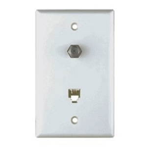 cat 5 wiring to old phone jack wiring devices amp wallplates wallplates data combo coax