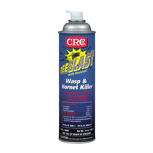 CRC,14009,CRC® 14009 Wasp/Hornet Killer, Aerosol Packing, Liquid, Clear/Water-White, Petroleum