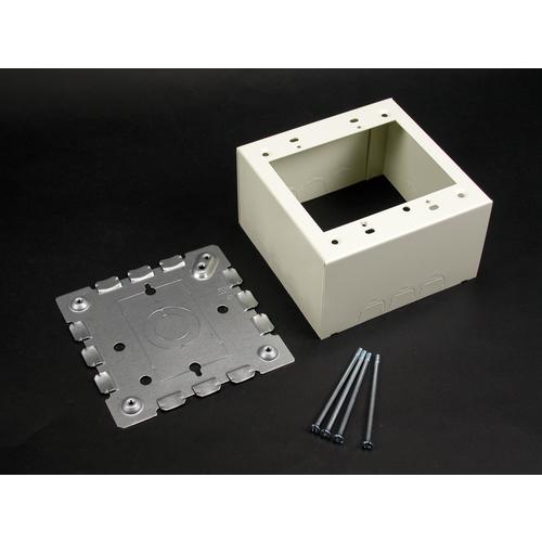 WMD V5744-2 STL EXTRA DEEP DEV BOX 2G IVORY