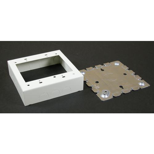 WMD V5748-2 STL DEVICE BOX 2G IVORY