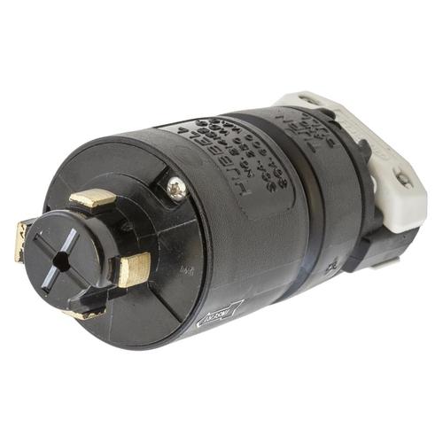 HUB HBL21415B H/LOCK PLUG, 3P4W, 30A 600V